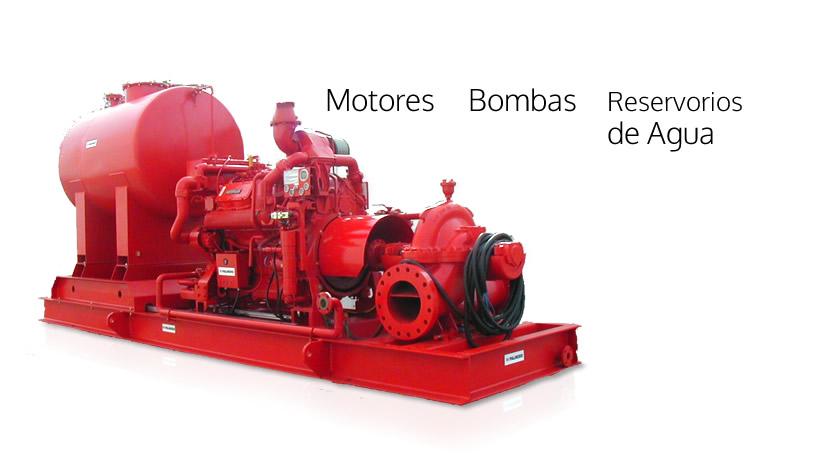 Motores, Bombas y Reservorios de agua